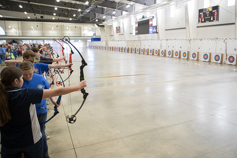 The largest youth archery competition in Alabama, the National Archery in the Schools Program (NASP) Alabama State Championship, will be held Friday, April 6, 2018, at the Multiplex at Cramton Bowl located at 220 Hall St., Montgomery, Ala., 36104.