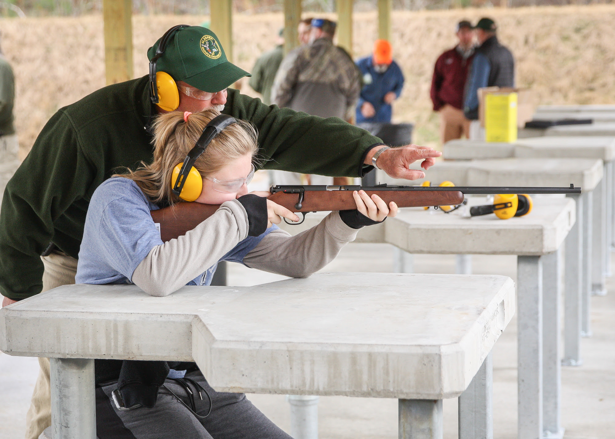 During Free Range Days, equipment, ammunition, and hearing and eye protection will be provided free of charge at the five participating ranges.