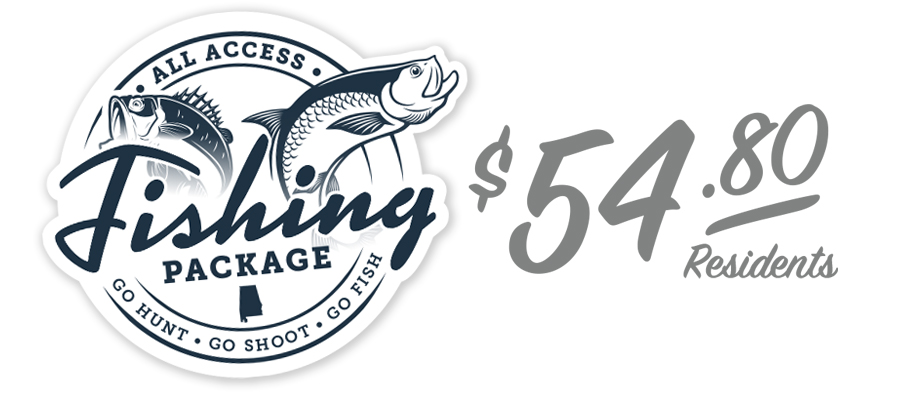 All Access Fishing Package