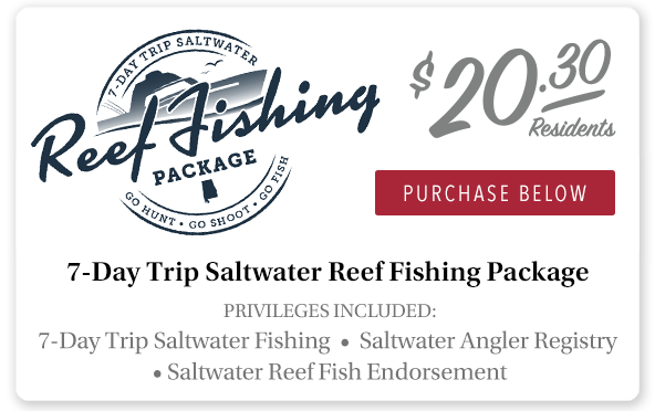 Alabama 7-Day Trip Saltwater Package