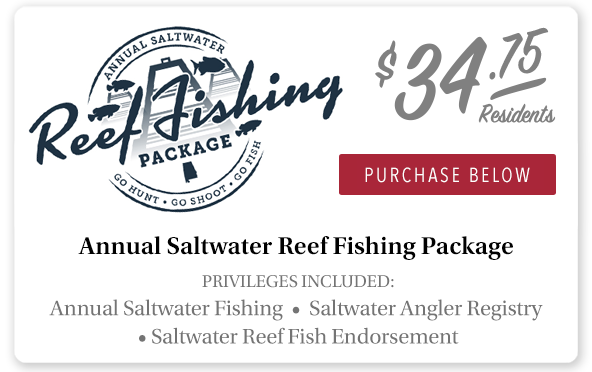 Alabama Annual Saltwater Package