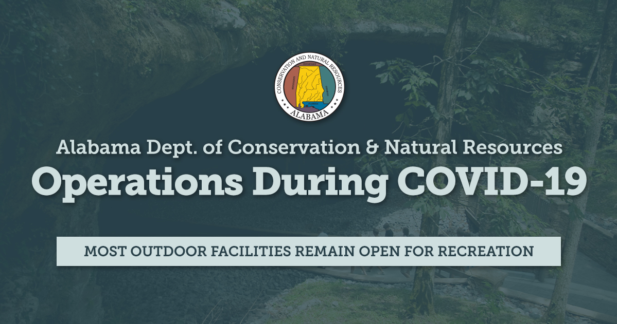 Most outdoor facilities remain open for recreation