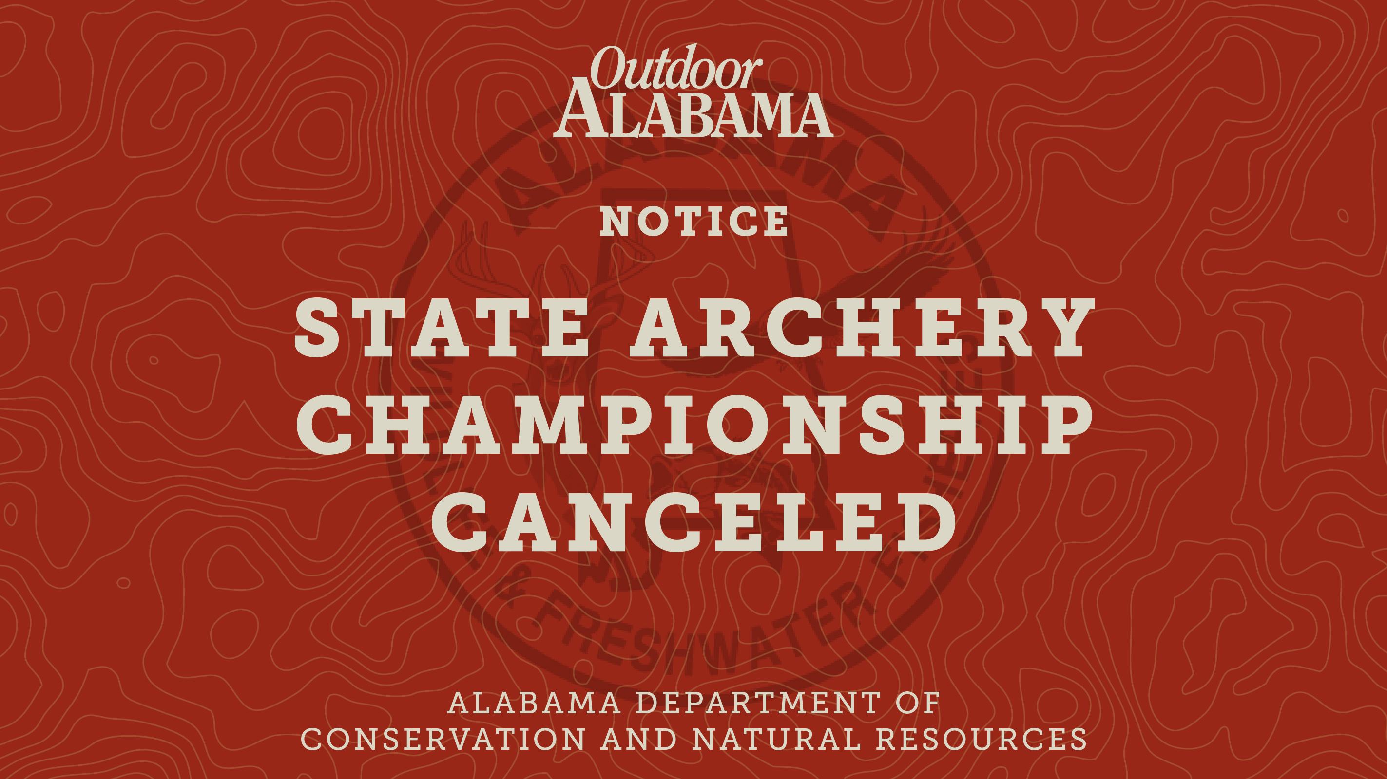 State Archery Championship Canceled