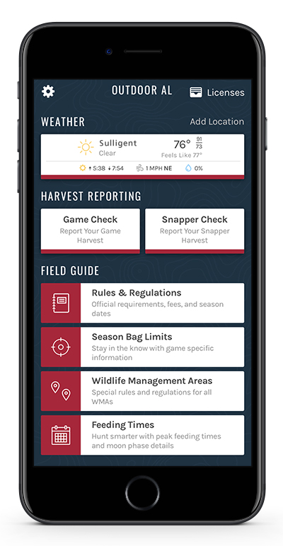 Mobile Apps | Outdoor Alabama