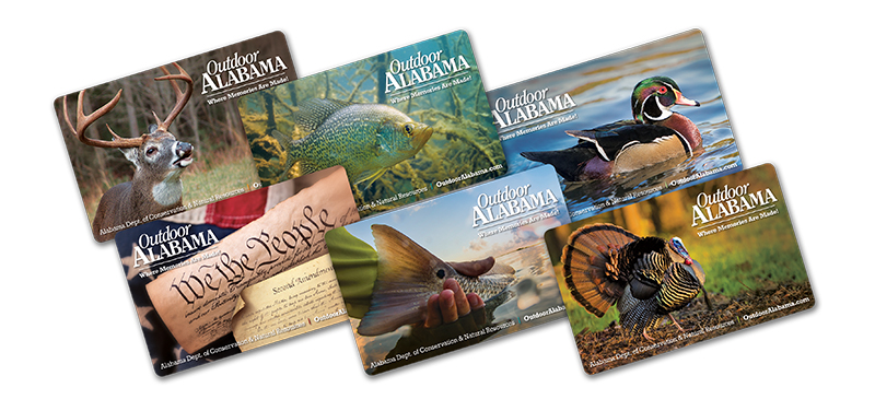 Alabama Hunting and Fishing License
