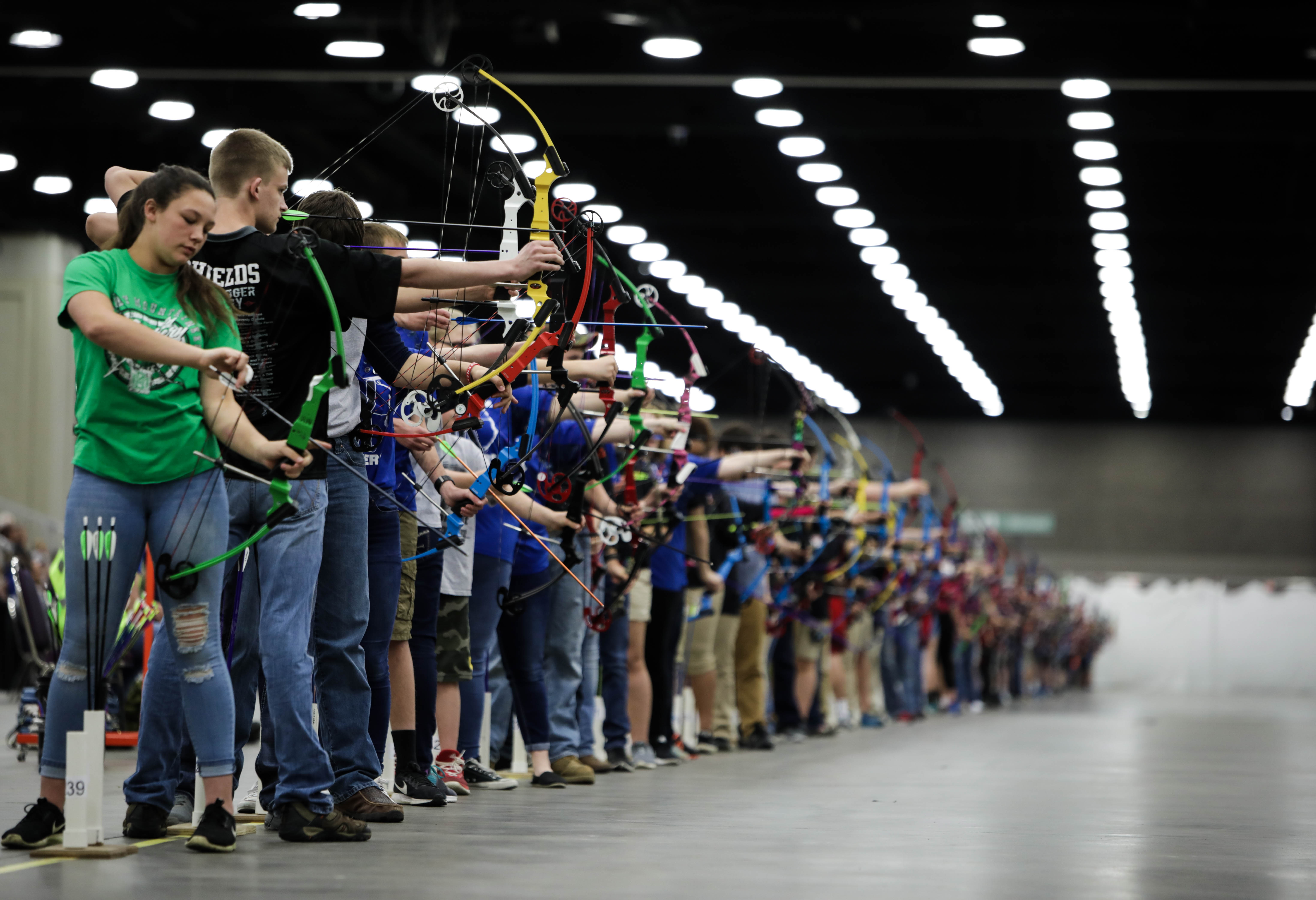 Arrows Soar at 2018 NASP Eastern National Tournament. Photo courtesy of NASP.