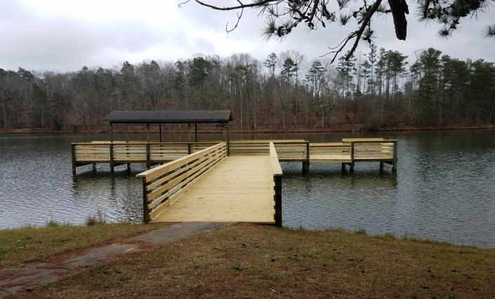 The Clay County Public Fishing Lakes are open from sunrise to sunset five days a week and closed on Wednesdays and Thursdays.