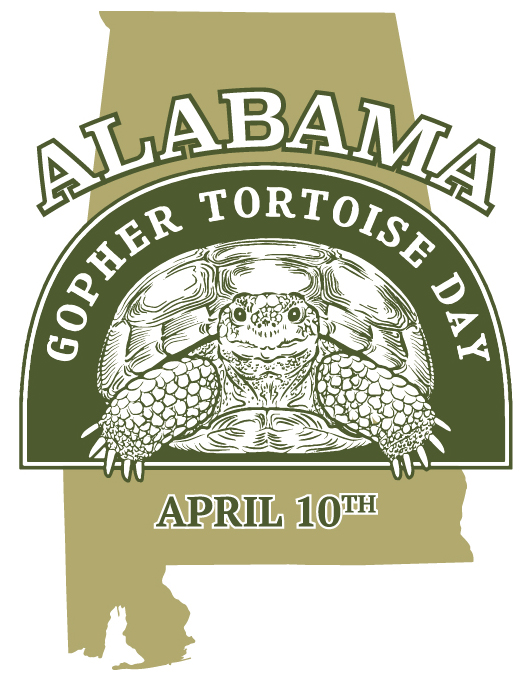 Gopher tortoise day outdoor alabama for Alabama non resident saltwater fishing license