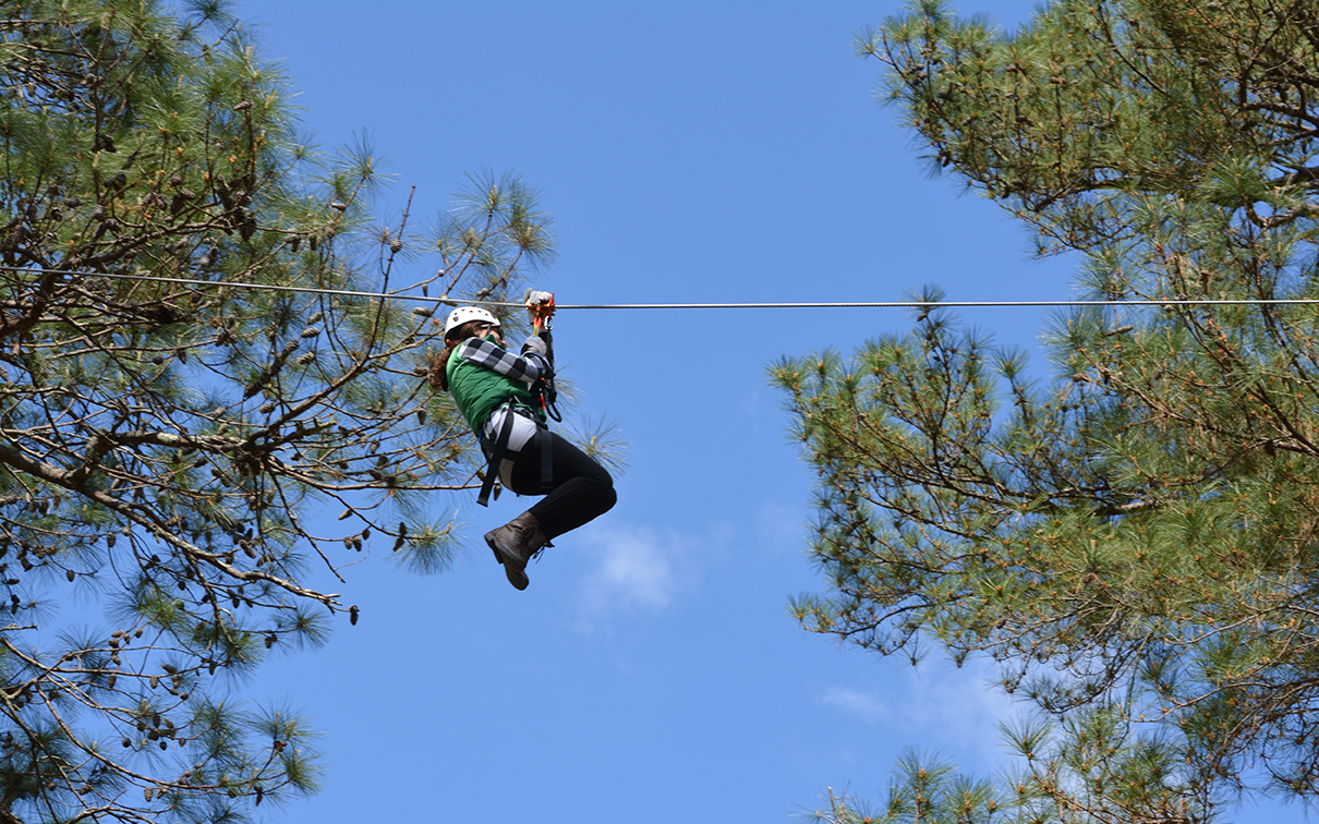 Wind Creek State Park Zipline