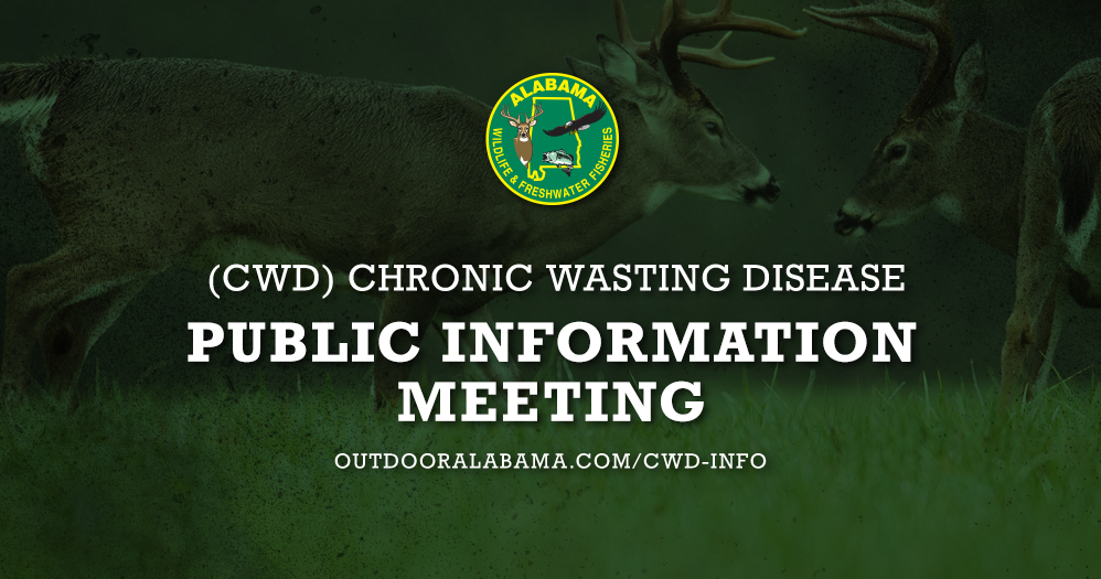 Fall 2019 CWD Public Information Meeting Schedule