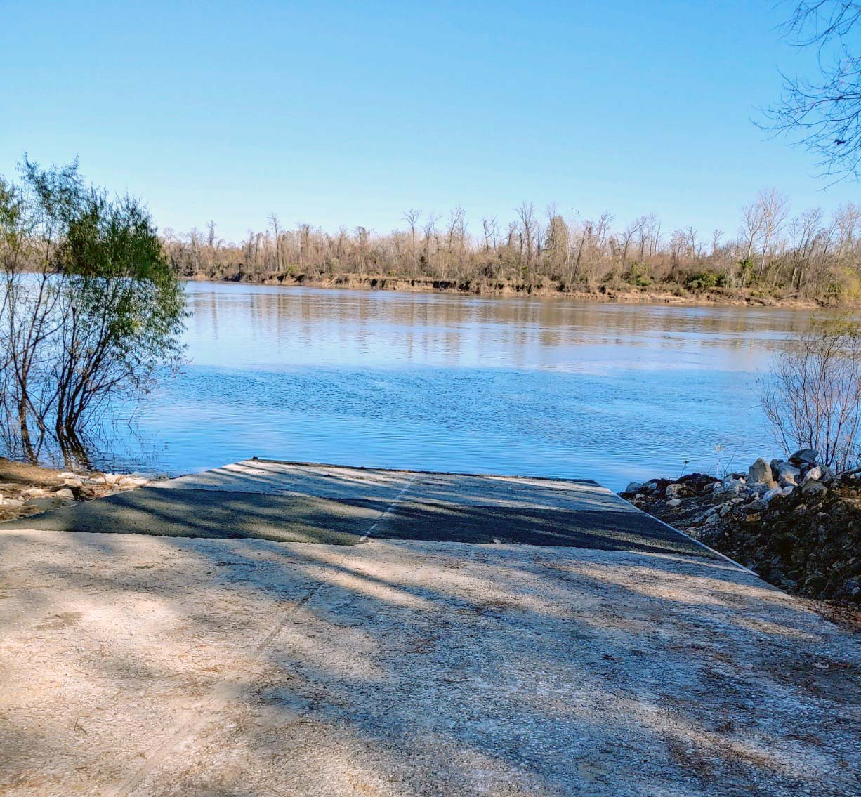 McIntosh Bluff Public Boat Ramp Reopens