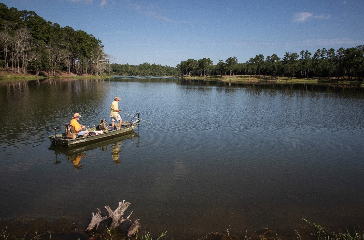 Boating and fishing are fun, stress-relieving activities that can be enjoyed with family and friends year-round. From connecting with loved ones to de-stressing after a busy week, boating and fishing help to maintain a healthy lifestyle.