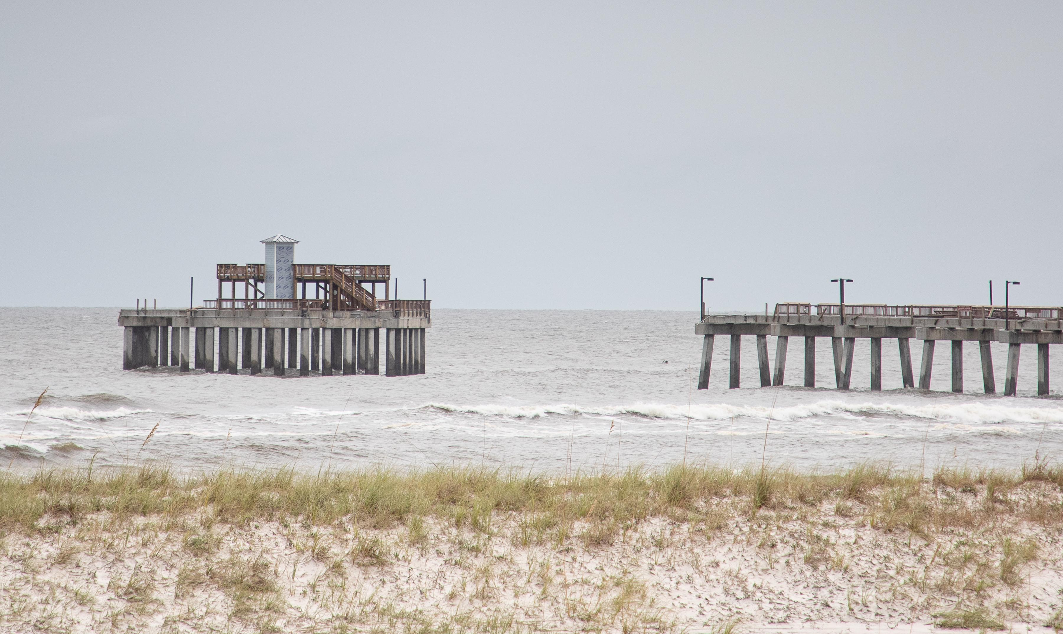 Gulf State Park Pier Section Succumbs to Sally`s...